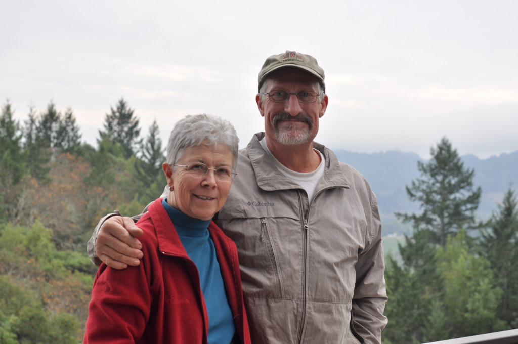 Scientist Legend Carole Meredith, and her equally brilliant husband Stephen Lagier met with me