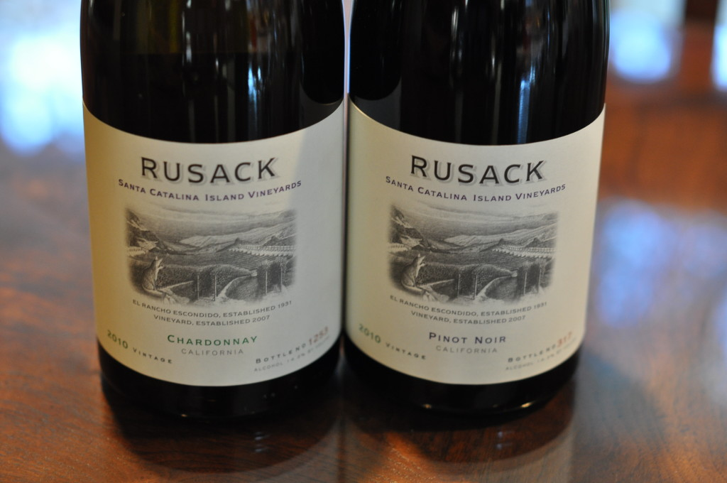 Rusack Wines, Catalina Vineyard Project