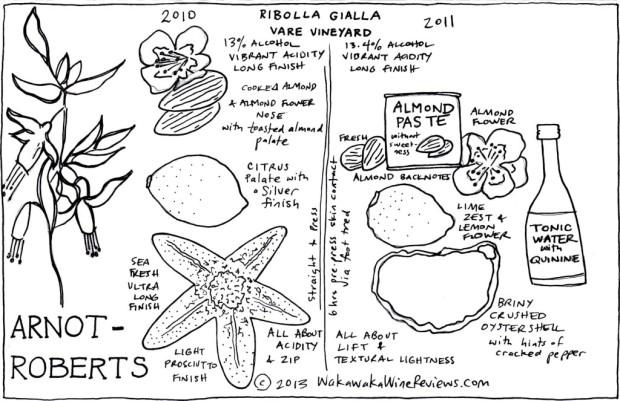 Arnot-Roberts 2010 and 2011 Ribolla Gialla