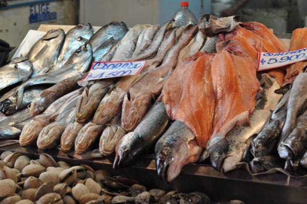 Mercado Centrale fish market