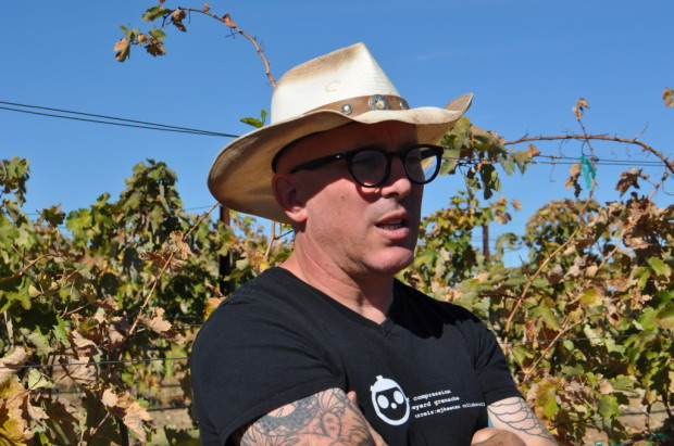 Maynard James Keenan in Marzo Vineyard